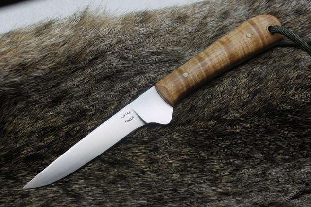 Pro Skinner, Skinning Knife, Trapping Knife, Lucas Forge, Custom Hunting Knife, Custom Fillet Knife, Custom Birding Knife, Quail Knife