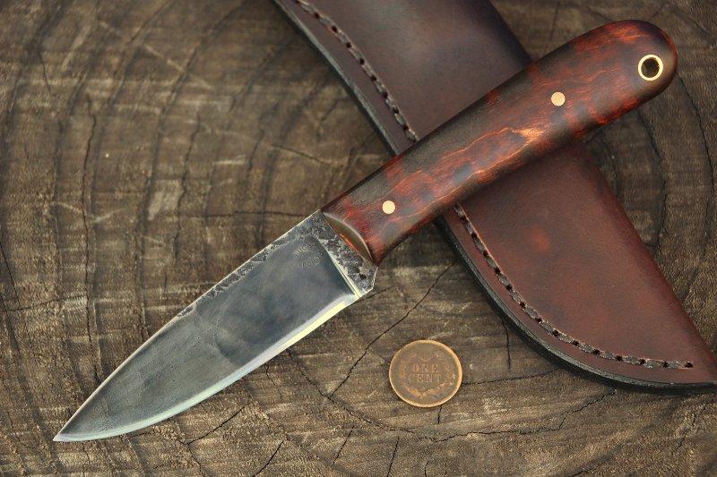 Custom Knives, Belt Knives, Small Knives, Custom Hunting Knife, Lucas Forge