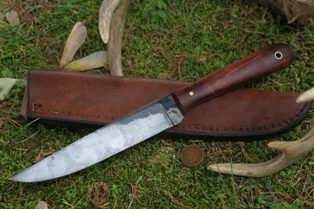 Fillet Knife, Custom Fillet Knife, Custom Hunting Knife, Custom Knife, Custom Fish Knife, Lucas Forge