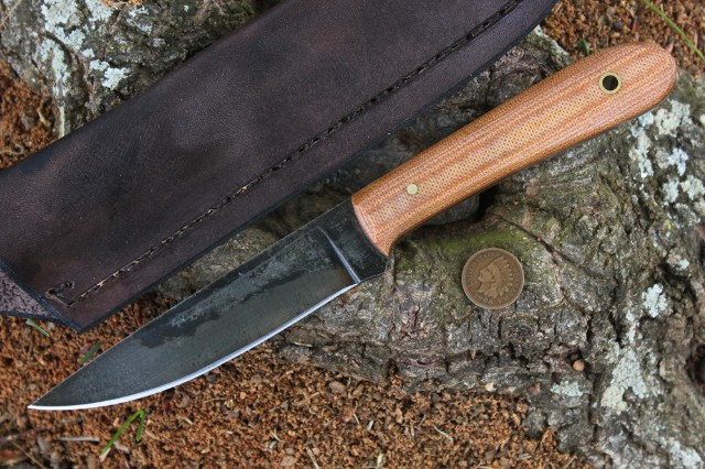 Custom Hunting Knives, Fish Knife, Custom Knife, Micarta, Lucas Forge, Hunting Knife, Survival Knife, Water-Resistant Knife