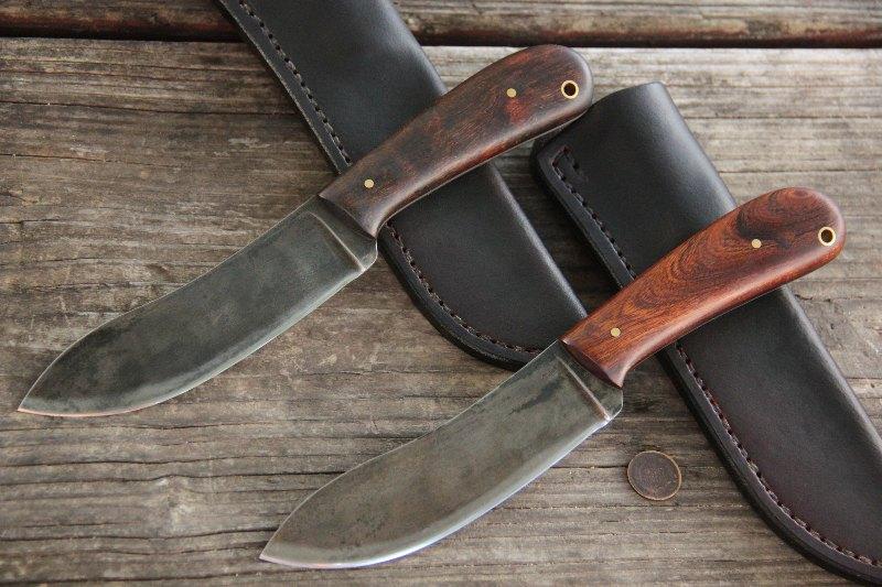 Nessmuk Knives, Nessmuk, Who was Nessmuk, Lucas Forge, Hunting Knives, Custom Knives, Custom Knife Set