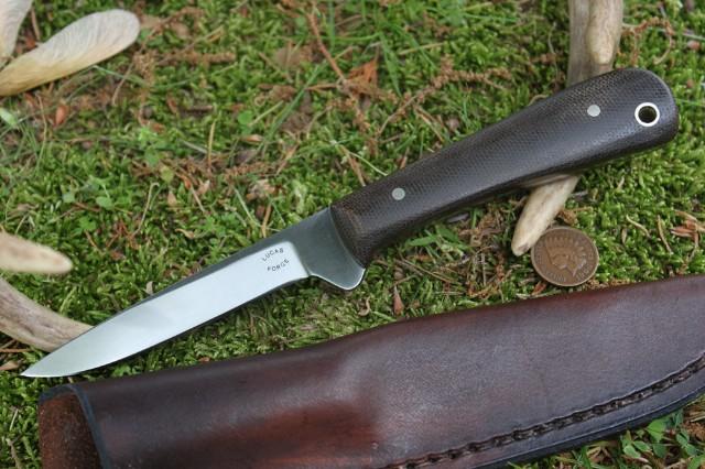 Skinning Knife, Lucas Forge, Pro Skinner