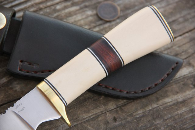 Custom Hunting Knives, Lucas Forge, Collector Knife