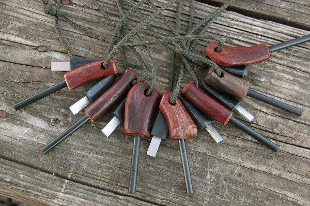 Antler Firestarters, Firestarters, Best Firestarters, Ferro Rods, Ferro Firstarters, Lucas Forge Knives, Custom Knives