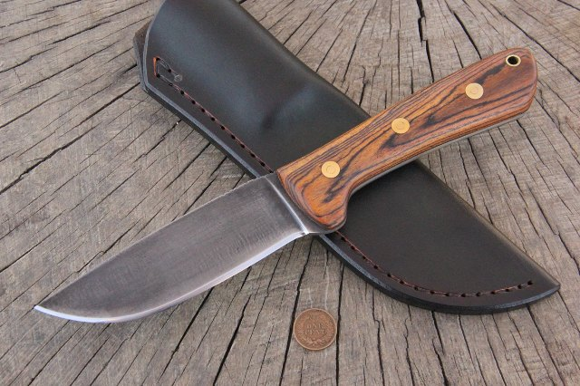 Camp Knife, Hunting Knife, Full Tang Hunting Knife, Lucas Forge Knives, Survival knife, Trapping Knife, Bear Knife, Hog Knife, Gator Knife