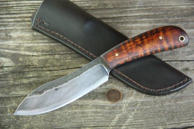 Custom Knives, Hunting Knife, Forged Knives, Lucas Forge Knives, Lucas Knives, Original Knives, Knives Forged in Fire, Custom Knife, Full Tang Knife, Camp Knife, Belt Knife
