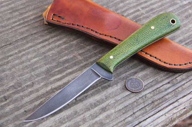 Skinning Knife, Custom Hunting Knives, Lucas Forge Knives, Custom Hunting Knife, Full Tang Knife, Custom Fillet Knife, Custom Bird Knife
