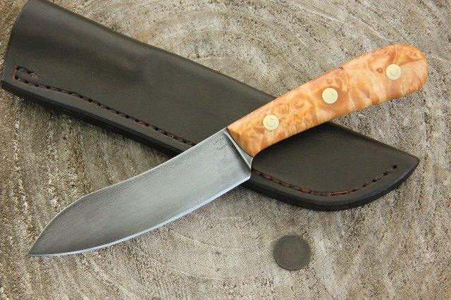 Chef's Knife, Custom Kitchen Knife, Lucas Forge Knives
