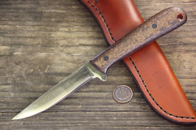 Custom Knives, Custom Belt Knife, Gifts for Hunters, Gifts for Men, Skinning Knife, Skinner Knife, Lucas Forge