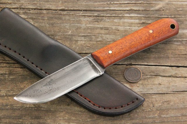 Custom Knives, Skinning Knife, Trapper Knife, Custom Trapper Knife, Custom Hunting Knife, Lucas Forge Knives, Camping Knife, Gift Knife, Custom Knife