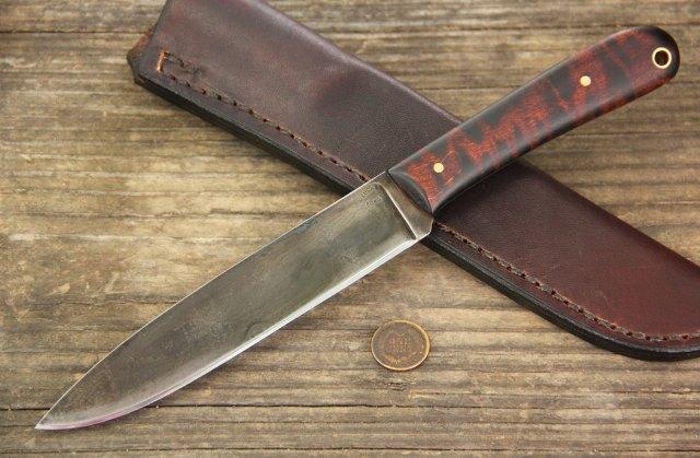 Frontier Knives, Custom Hunting Knives, Lucas Forge Knives, Camp Knives, Whittling Knives, Belt Knife