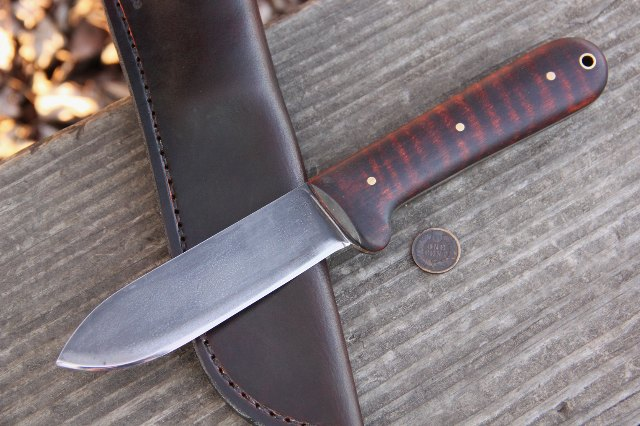 Custom Knives, Lucas Forge, Hunting Knife, Kephart Knife, Lucas Forge Kephart Knives