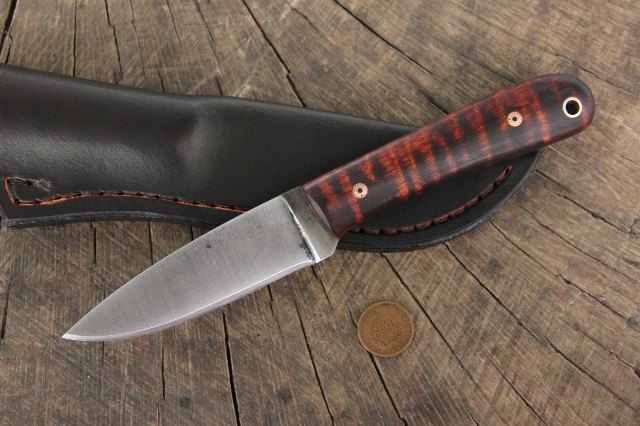 Custom Hunting Knife, Frontier Knife, Lucas Forge Knives, Custom Knives, Hunting Knife, Survival Knife