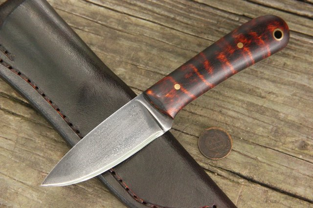 Small Knife, Small Belt Knife, Custom Knives, Knives with Blade Under 4 Inches, Lucas Forge, Lucas Knives