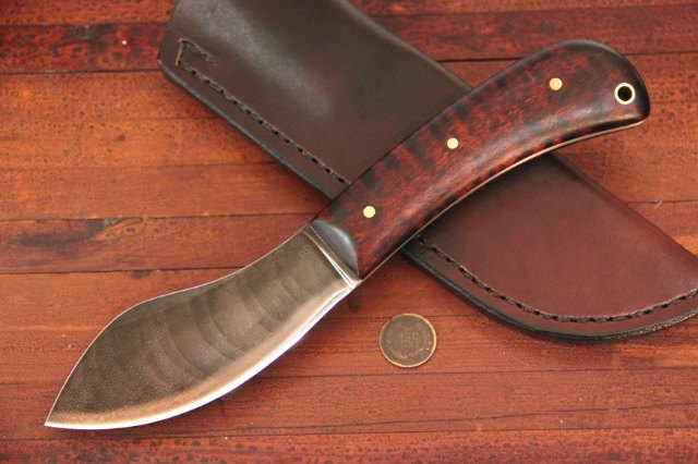 Custom Knives, Vintage Nessmuk Knife, Sears Nessmuk, Custom Knives, Custom Hunting Knives, Lucas Forge, Lucas Forge Knives
