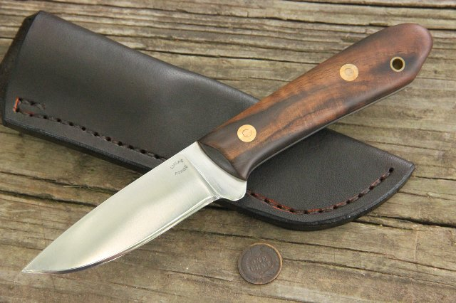 Packer, Packer Knife, Packing Knife, Hunting Knife, Custom Hunting Knife, Lucas Forge Knives, Outdoorsmen Knife
