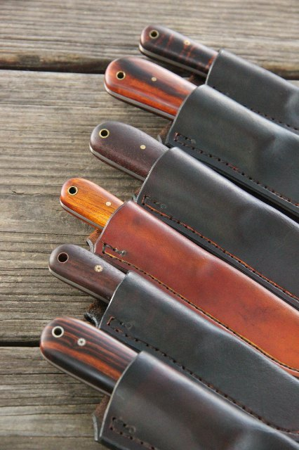 Custom Hunting Knives, Lucas Forge, Custom Knives