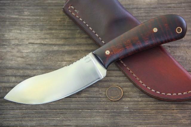 Custom Hunting Knives, Custom Knives, Nessmuk, Nessmuk Knives, Lucas Forge Nessmuk, Lucas Forge Knives, Camp Knife, Custom Knife, Hunting Knife, Traditional Hunting Knives, Handmade Hunting Knives