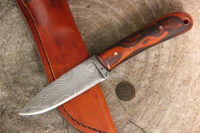 Damascus Knives, Custom Hunting Knives, Lucas Forge, Custom Knives, Hunting Knives, Handmade Knives