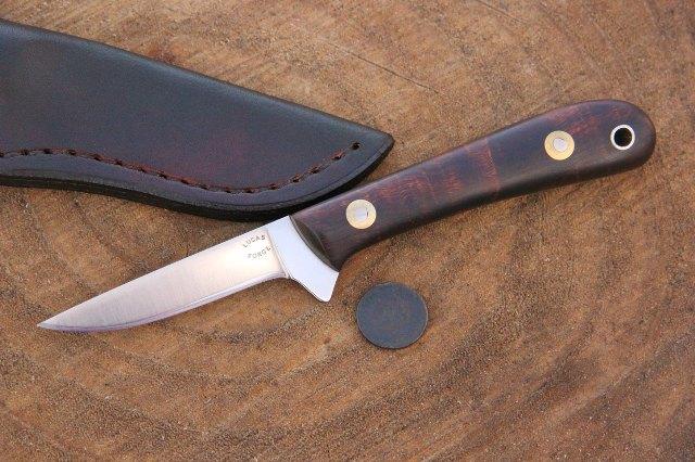 Skinning Knife, Skinner Knife, Lucas Forge, Custom Hunting Knife