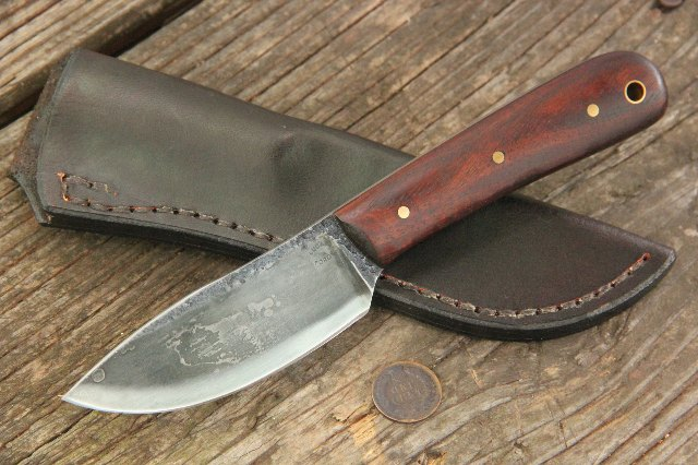 Skinning Knife, Forged Knife, Custom Knives, Hunting Knife, Lucas Forge, Lucas Knives