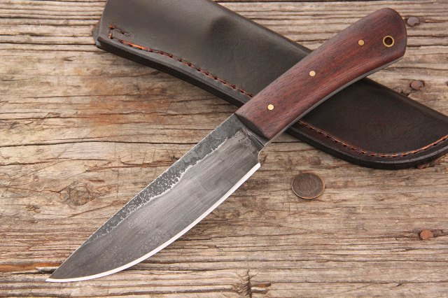 Forged Knife, Custom Knife, Lucas Forge Knives