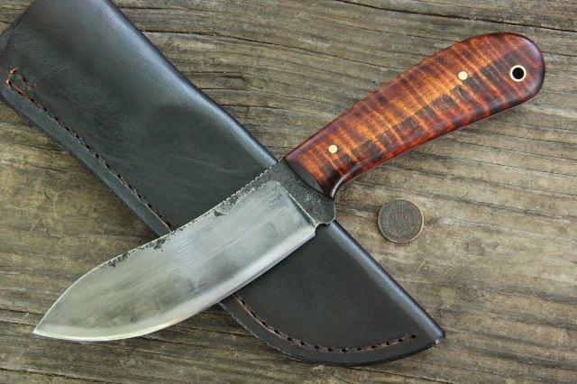 Nessmuk Knife, Custom Nessmuk Knife, Historical Nessmuk Knife, Hunting Knife, Full Tang Hunting Knife, Forged Knife, Hand Forged Knife, Handmade Knife, Custom Knife, Lucas Knives