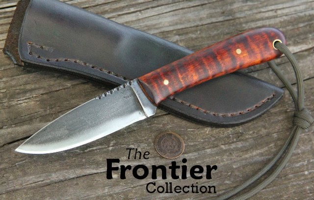 Custom Knives, Lucas Forge, Hunting Knives