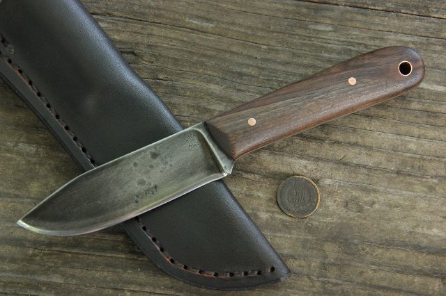 Custom Hunting Knives, Skinning Knife, Custom Skinning Knife, Custom Trapper's Knife, Trapping Knife, Belt Knife, Custom Knife, Lucas Forge Knives, Lucas Forge