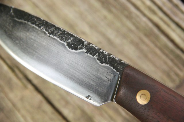 Hammer Forged Knife, Forged Knife Blade, Lucas Forge Knives