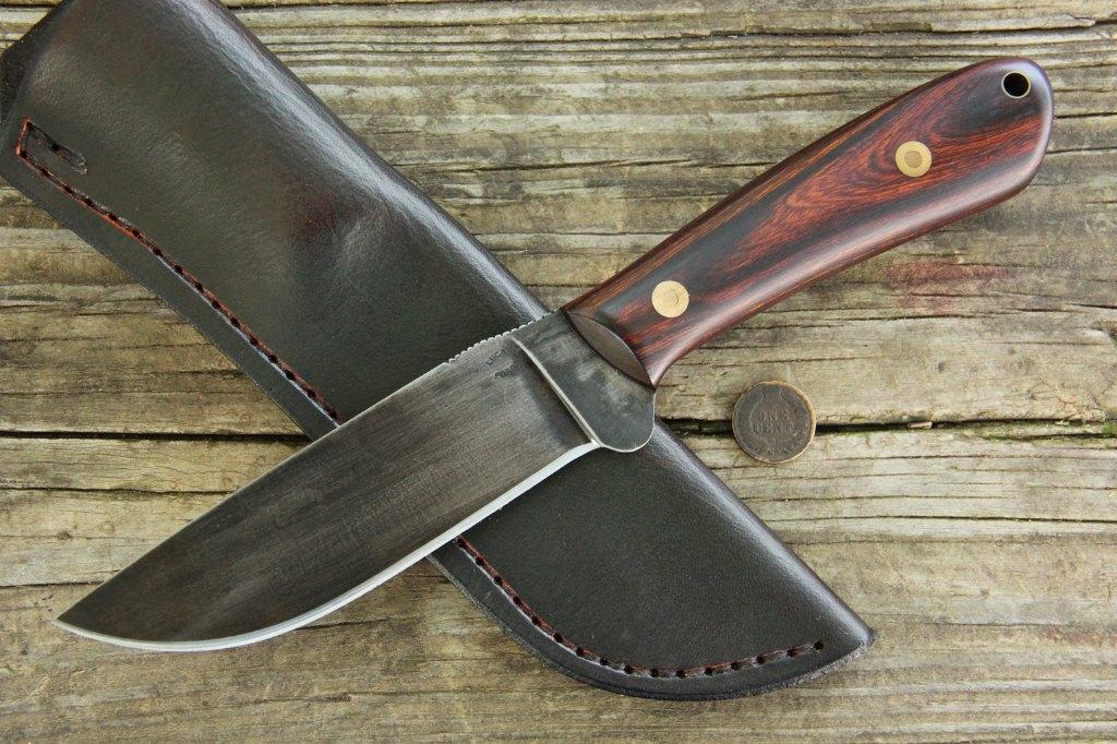Custom Hunting Knives, Hunting Knives, Lucas Forge, Custom Knives, Jaguar Knives, Big Knives, Camp Knives