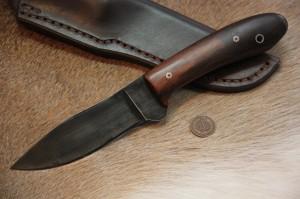 Custom Hunting Knives, Custom Knife, Belt Knife, Carrying Knife, Lucas Forge, Lucas Forge Custom Knives, Lucas Knives