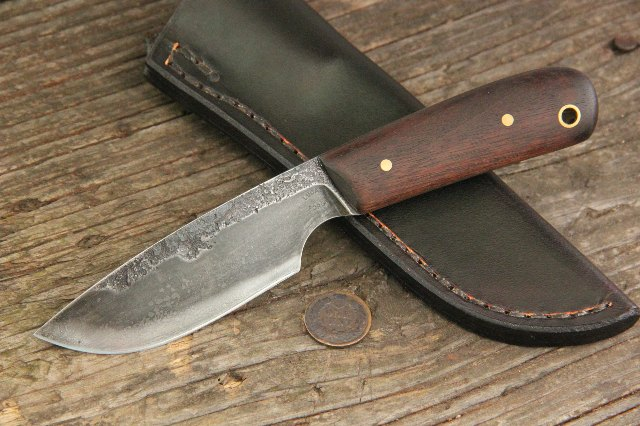 Skinning Knife, Custom Hunting Knives, Lucas Forge