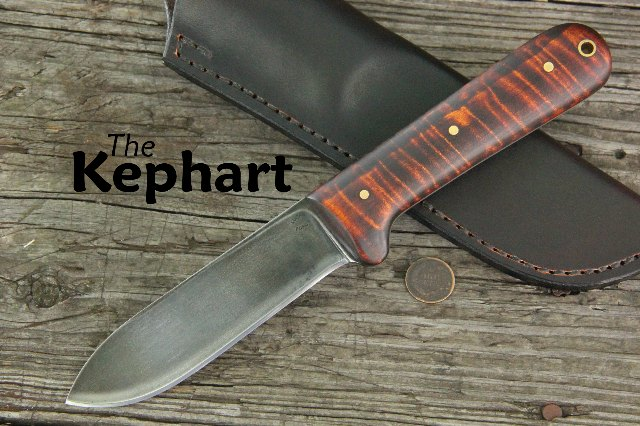Custom Knives, Kephart, Kephart Knives, Custom Hunting Knife, Lucas Forge, Lucas Knives, Custom Kephart