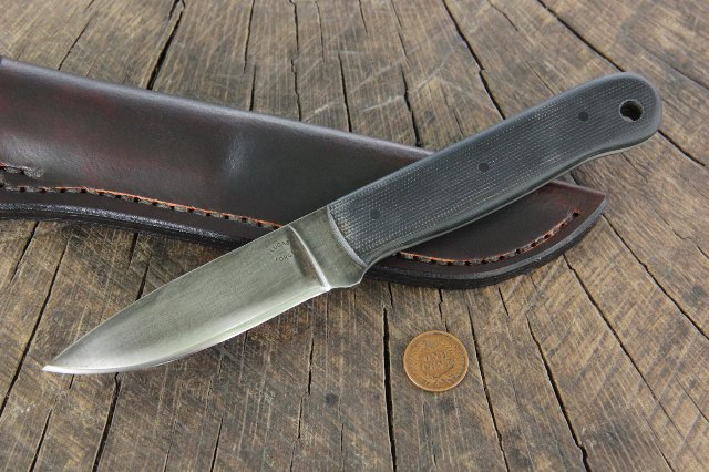 Survival Knife, Micarta Handled Knife, Lucas Forge Knives, Custom Hunting Knives, Custom Knife