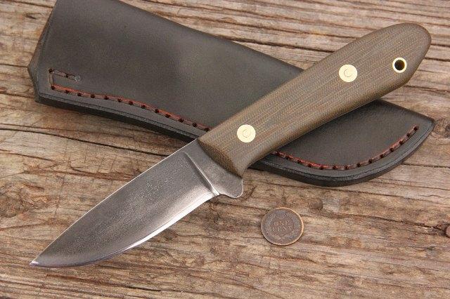 Packer, Packing Knife, Custom Knife, Custom Hunting Knife, Lucas Forge, Custom Knives, Full Tang Knife