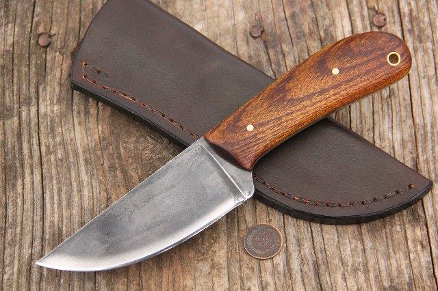 Custom Hunting Knives, Full Tang Knives, Lucas Forge Knives, Hunting Knife, Custom Hunting Knife, Trade Knife, Scout Knife, Historical Knife