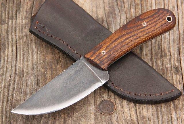 Osage Orange, Osage Handles, CUstom Knives, Custom Hunting Knives, Lucas Forge Knives, Lucas Forge, Camp Knives, Hunting Knives, Full Tang Hunting Knives