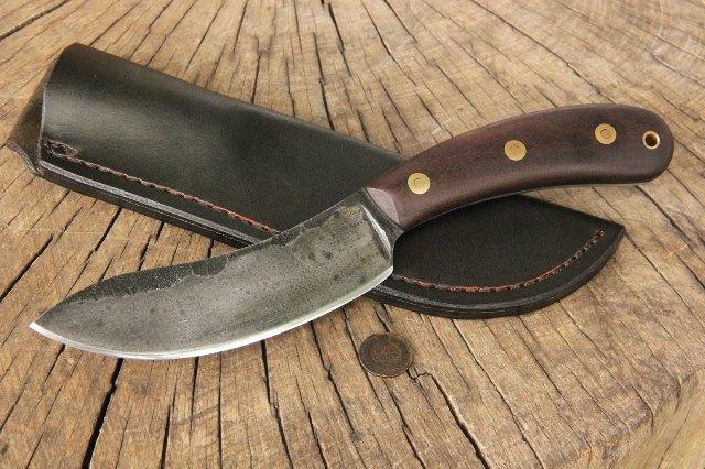 Custom Hunting Knife, Skinning Knife, Skinner Knife, Lucas Forge Knives