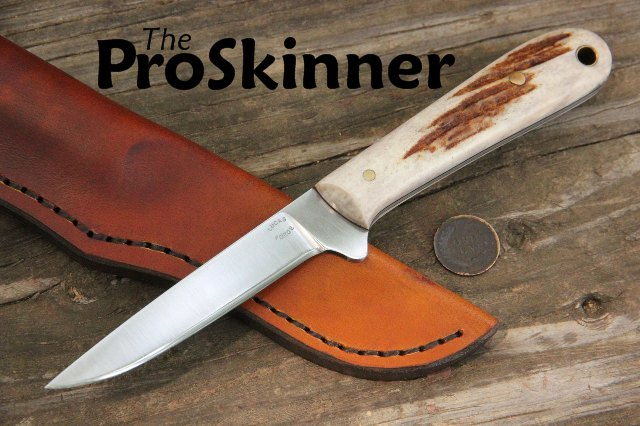 Custom Hunting Knives, Skinning Knife, Trapping Knife, Trapper's Knife, Custom Knife for Trapper, Lucas Forge, Lucas Forge Knifemaker, Knifemakers, Custom Knives