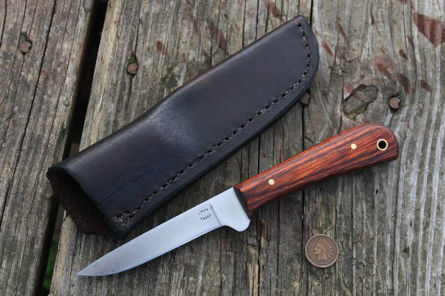 Skinning Knife, Survival, Survival Knife, Custom Hunting Knife, Trapping Knife, Lucas Forge