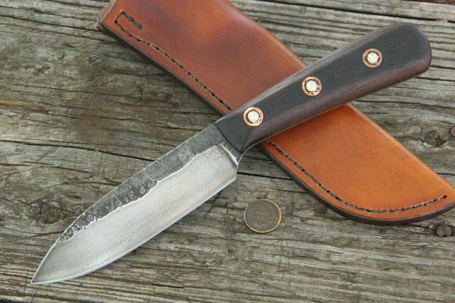Hand Forged Knives, Forged Knives, Lucas Forge, Custom Knives, Hunting Knives, Full Tang Knives
