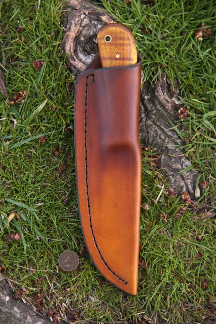 Custom Hunting Knives, Custom Leatherwork