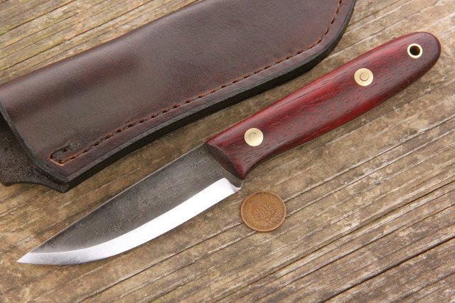 Scandi Grind Knives, Scandinavian Knives, North Knives, Lucas Forge Knives, Custom Knives, Custom Scandi Knives, Handmade Knives