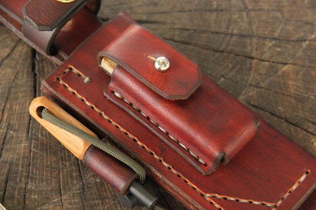 Multi Use Leather Sheath, Lucas Forge Knives, Custom Hunting Knives, Leather Sheath, Customized Leather Sheath, Backwoodsman Leather Sheath, Hiker's Leather Knife Sheath, Adventure Sheath, Survival Sheath