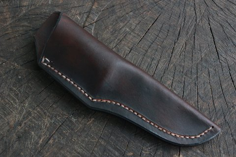Custom Sheath, Custom Leather Sheath, Custom Knife, Custom Hunting Knife, Lucas Forge, Lucas Bullington Knives