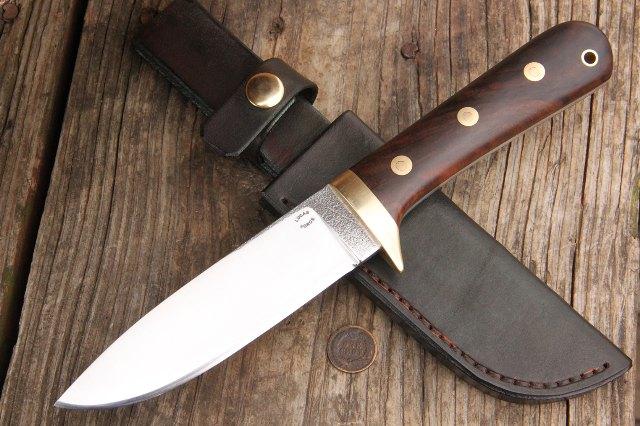 Classic Hunting Knife, Heirloom Knife, Custom Knife, Custom Hunting Knives, Lucas Forge Knives, Hunting Knife, Full Tang Hunting Knife, Skinning Knife, Lucas Forge