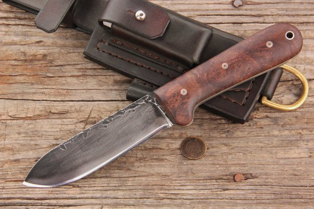 Kephart Knife, Custom Kpehart Knife, Reproduction Kephart Knife, Lucas Forge Knives, Knifemakers