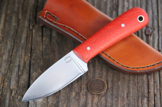 Stainless Knives, Custom Stainless Steel Knife, Lucas Forge, Custom Kitchen Knife, Made in USA cutlery, US made Kitchen Knives