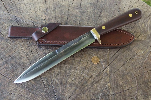 Hog Hunting Knife, Hog Knife, Lucas Forge Knives, Custom Hunting Knife, Custom Hunting Knives